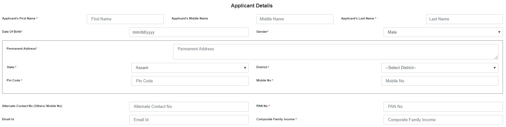 Application details for Aponar Apon Ghar